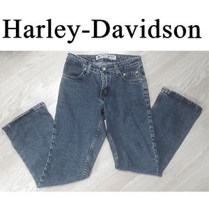 Harley-Davidson Blue Denim Biker Jeans Size 0